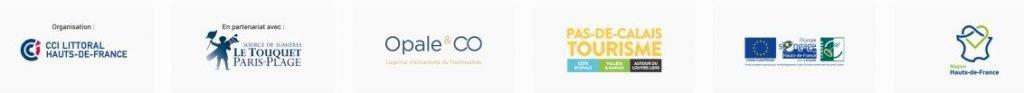 bandeau logos organisateur partenaires