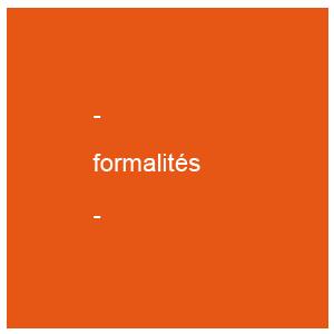FORMALITE