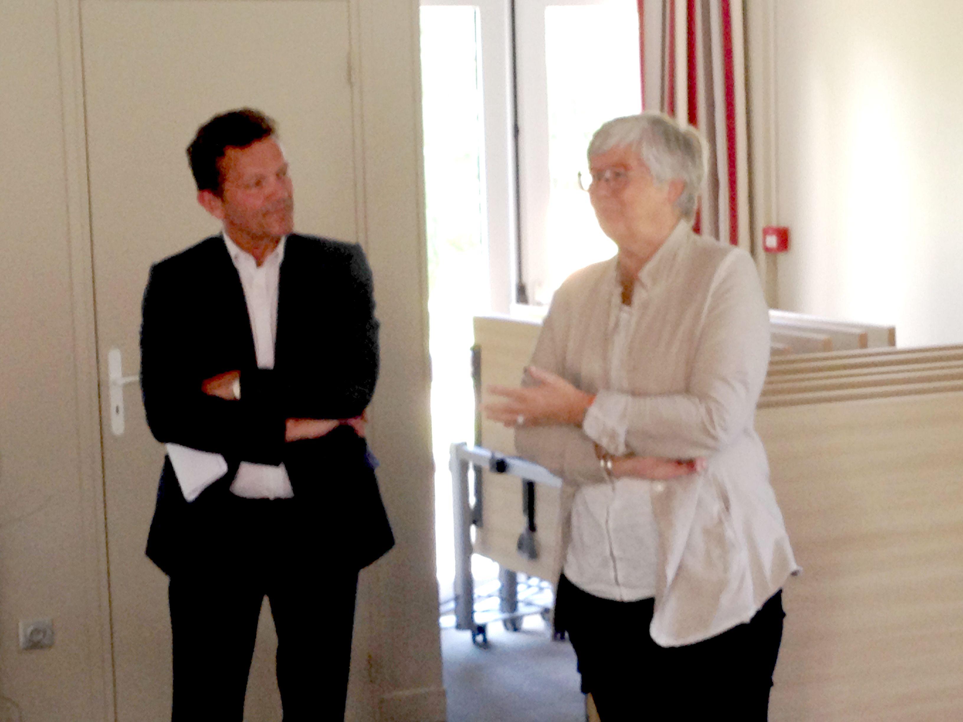 Jérôme David et Christine Nacry