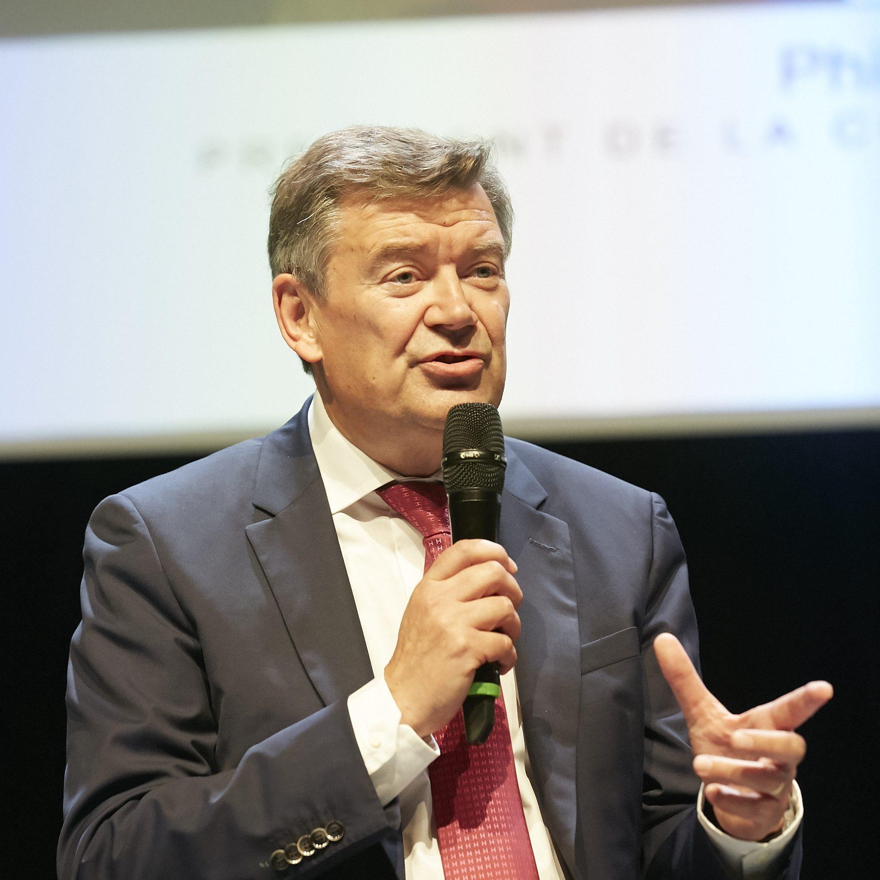 Philippe HOURDAIN, Président de la CCI de région Hauts-de-France