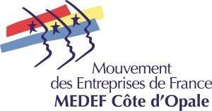 logo Medef Côte d'Opale 2017