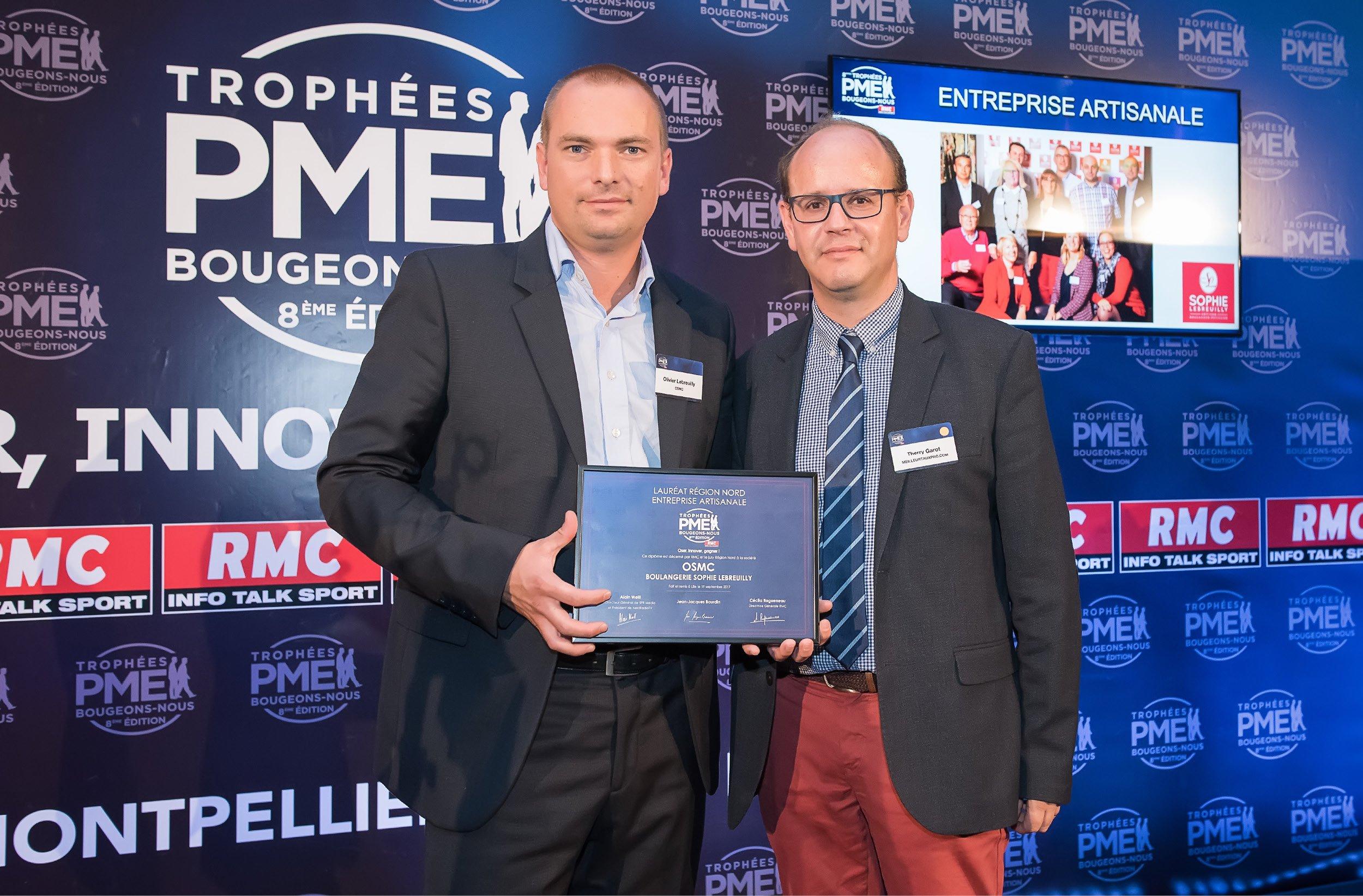 OSMC, lauréat 2017 des Trophées RMC PME Bougeons-Nous !