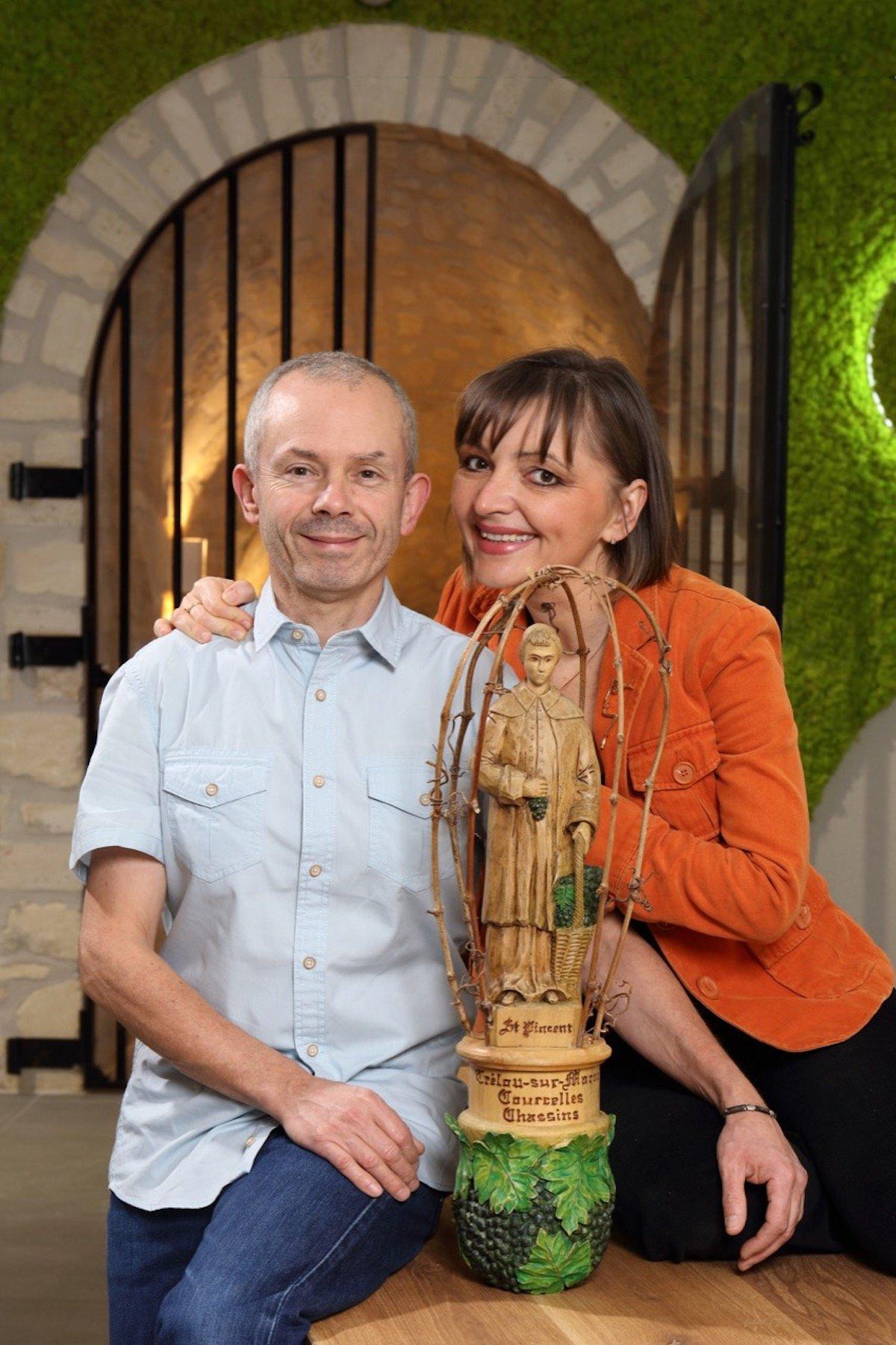 Aisne - la maison de Champagne Météyer récompensée par l'UNESCO