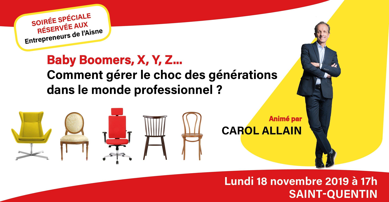 Soirée Spéciale Entrepreneurs de l'Aisne - Carol Allain