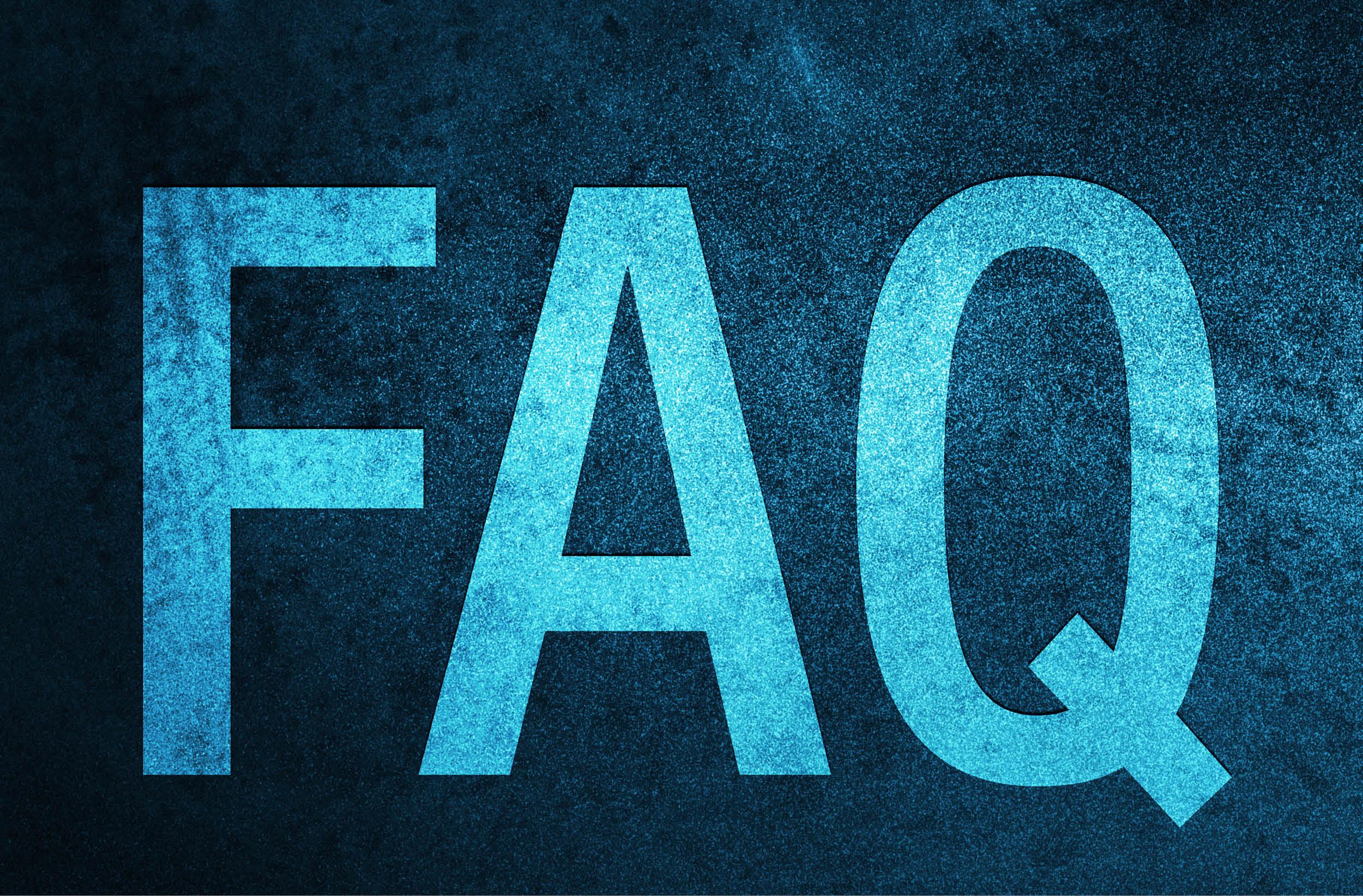 COVID 19 : consultez notre FAQ