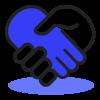 accord bleu sombre