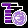 budget clair violet