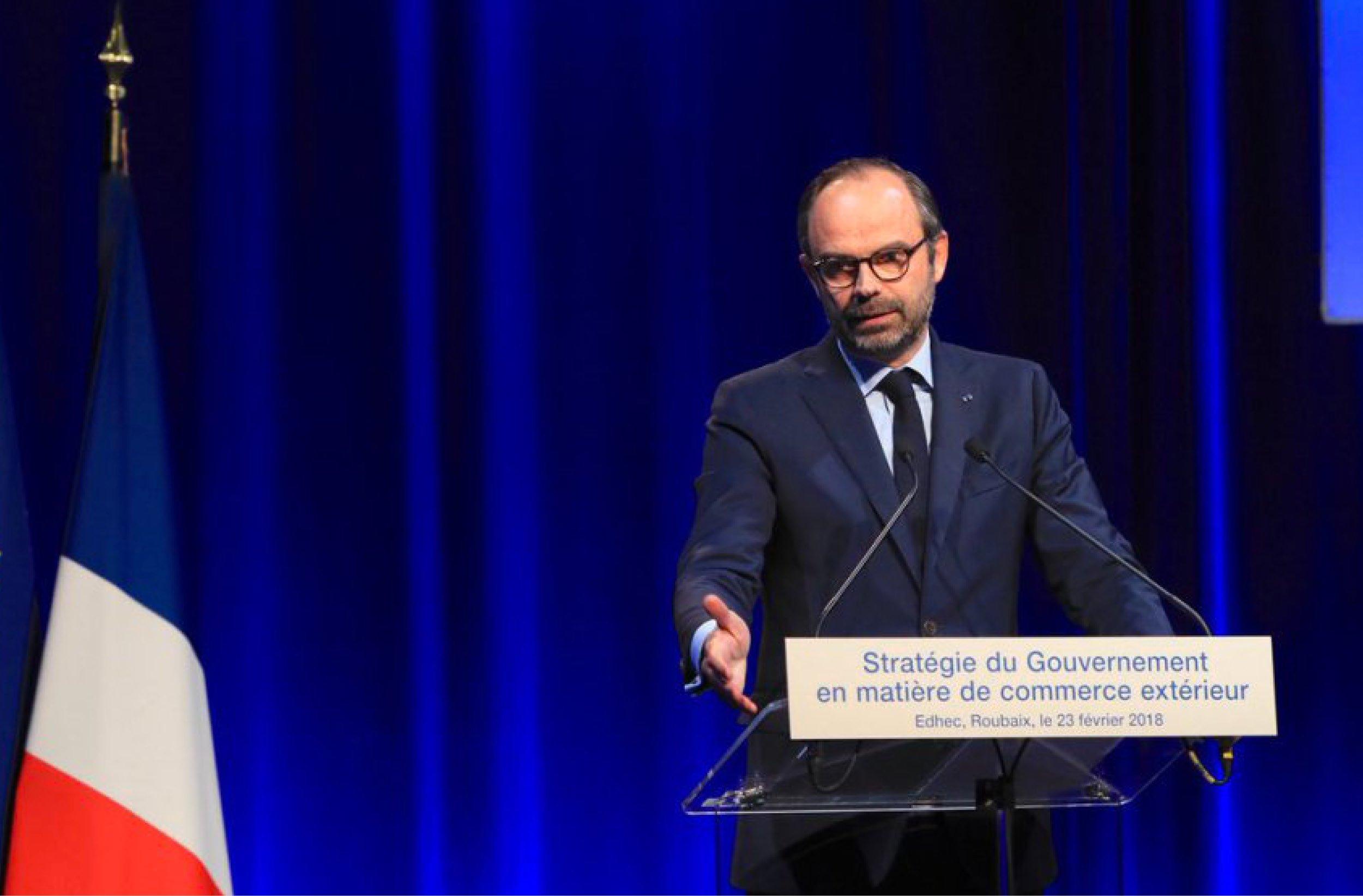 Nouvelle stratégie commerce extérieur par Edouard Philippe