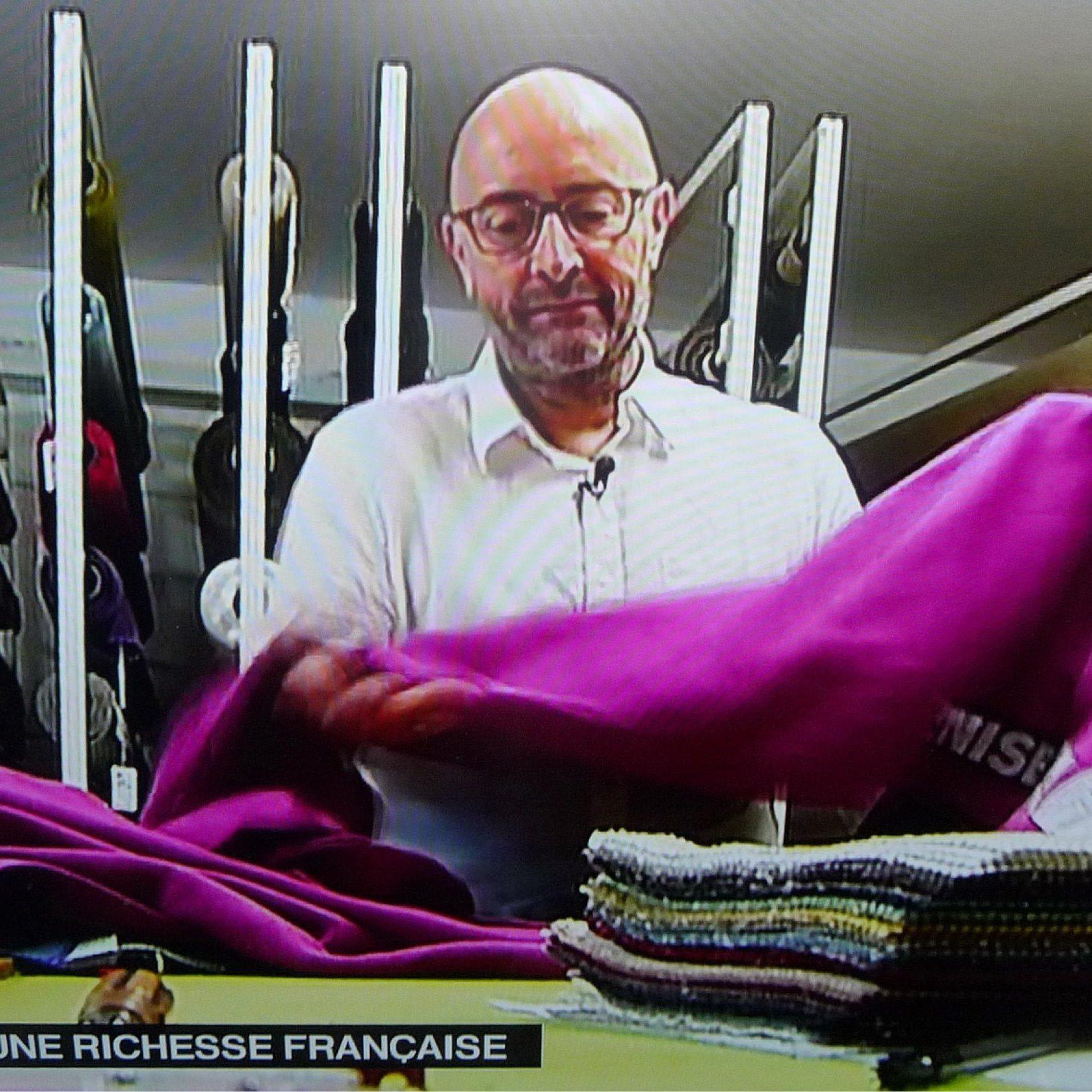 Lemaître Demeestere, entreprise de tissage haut de gamme du lin, a été lauréate des Trophées PME- Bougeons-nous RMC en 2012.