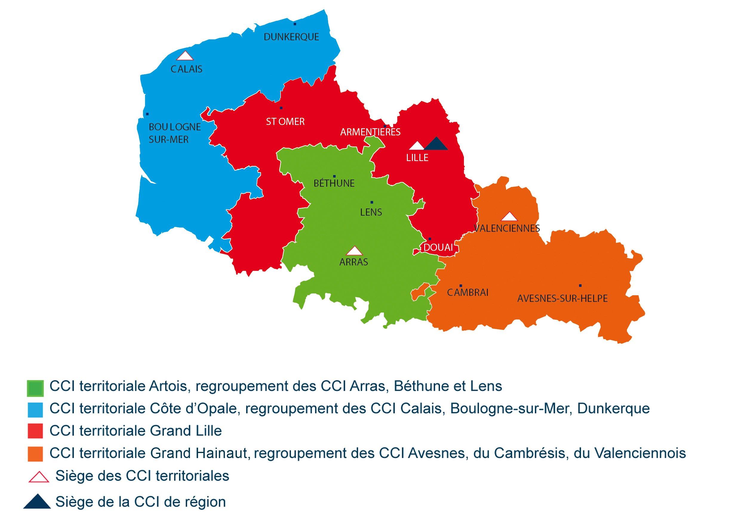 region du nord de la france