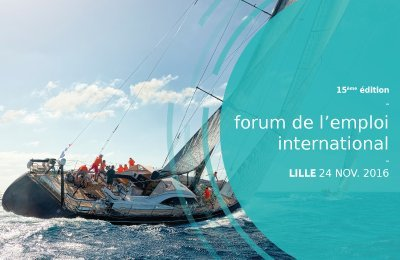 Forum de l'emploi international, le 24 nov à Lille